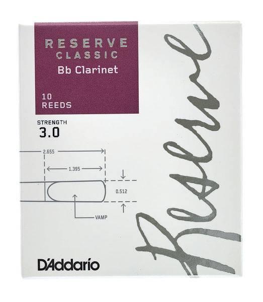 Bilde av D'addario Reserve Classic Bb-klarinett no 3