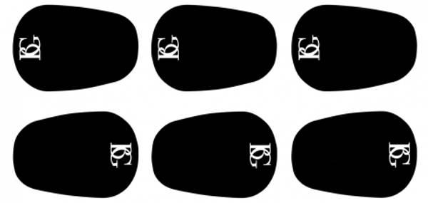 Bilde av BG A10L Munnstykkeputer svart 0,8mm